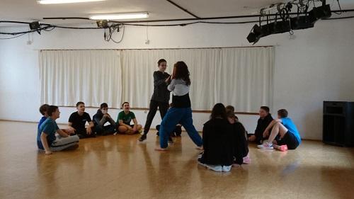 Das Tanz-Projekt der Klasse 8a